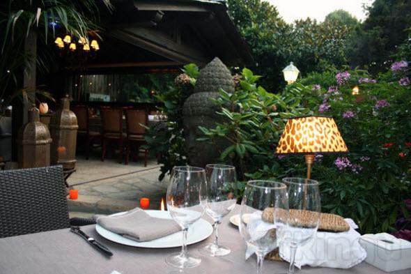 Restaurante otzarreta zarautz el jard n de las delicias for Restaurante jardin
